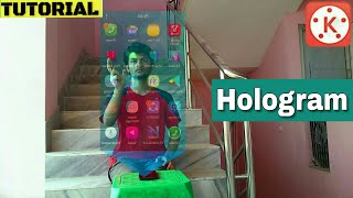 Hologram technology video editing app for android | video editing with KineMaster