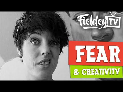 Fear & the creative process | Artist Insider Vlog 01
