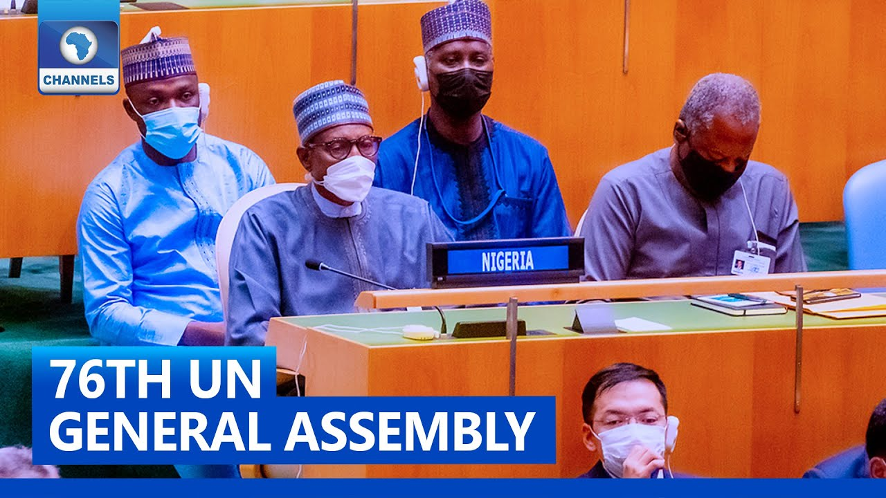 Download 76th UNGA: President Buhari Highlights Measures To Tackle Biodiversity