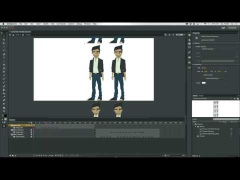 Character-Animation: Using sprite sheets - Adobe Animate CC