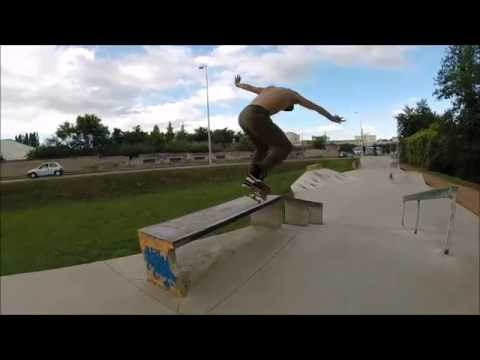 Skatepark de Roanne - Die City Crew - Session barbecue