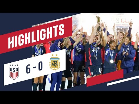 USA 6-0 ARGENTINA FULL HIGHLIGHTS | Feb. 24, 2021 | Orlando, Florida - Exploria Stadium