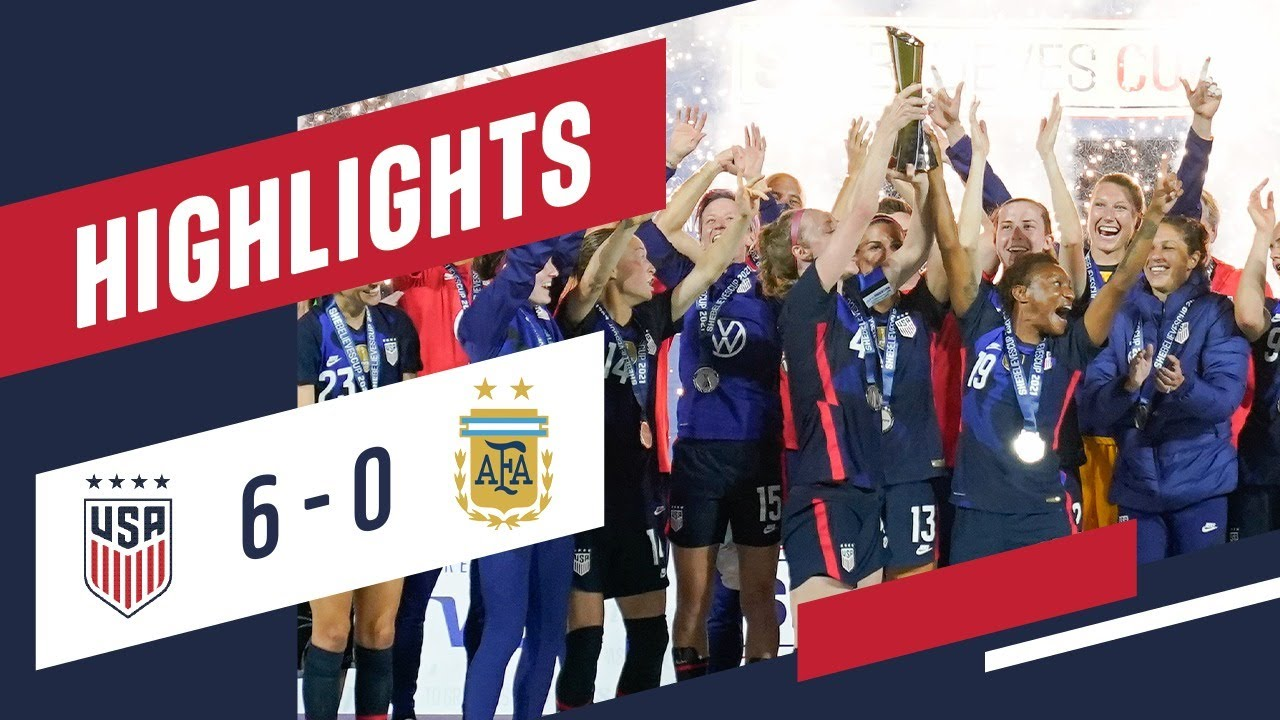 USA 6-0 ARGENTINA FULL HIGHLIGHTS | Feb. 24, 2021 | Orlando, Florida - Exploria Stadium