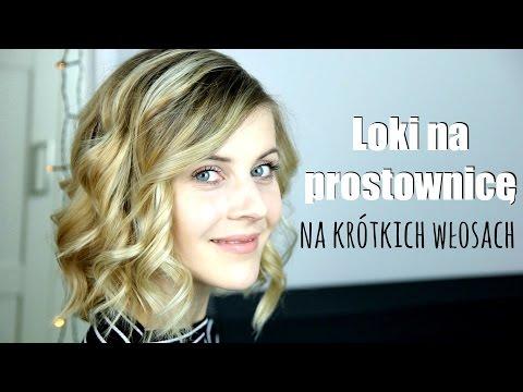 Jak Zrobić Loki Na Prostownicę Na Krótkich Włosach Marka Czesze