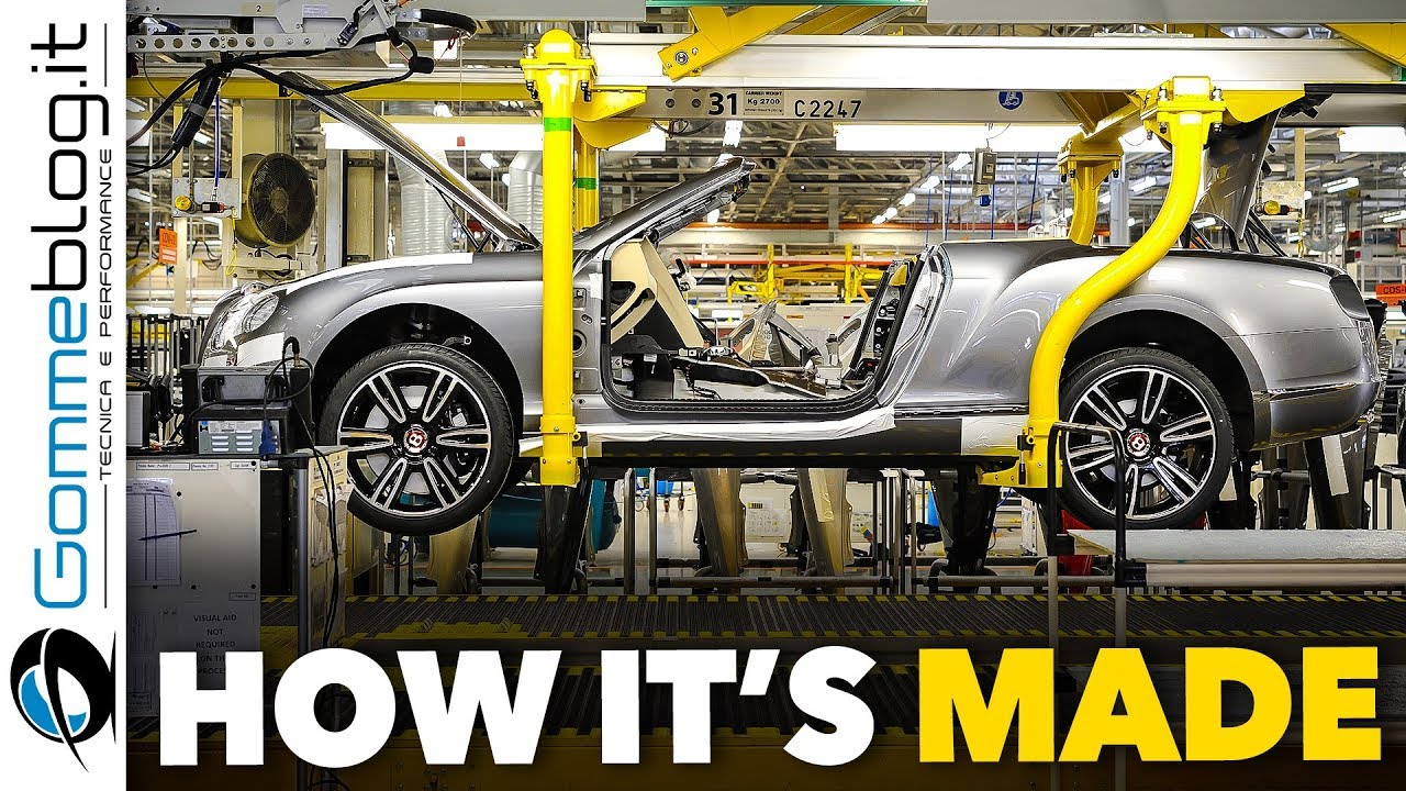 HOW Bentley Cars Are MADE