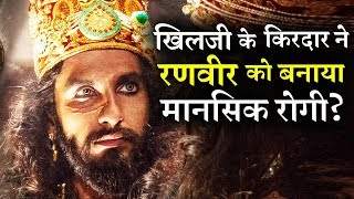 ranveer singh consulting a psychiatrist to get rid from khilji character
