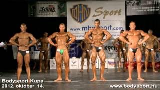 Bodysport kupa 2012. október 14. TEHETSÉGKUTATÓ JUNIOR (24 év alatt)