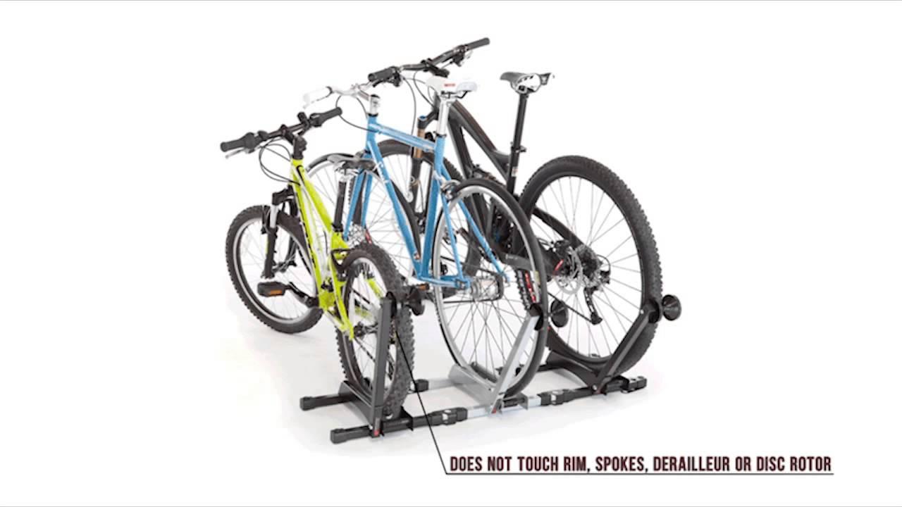 Feedback Sports RAKK Home Bicycle Storage   YouTube