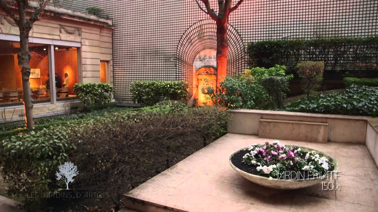 Vid o les jardins d 39 artois 2016 hotelrestovisio youtube for O jardins d eglantine