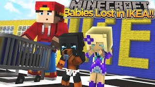 minecraft adventure baby angel baby max are lost in ikea