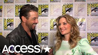 Comic-Con 2018: 'Riverdale's' Skeet Ulrich & Mädchen Amick Joke About Alternate #FAlice Nicknames