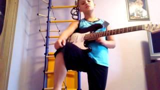 Урок игры на гитаре Deep purple smoke on the water