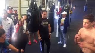 Gervonta Davis Direct Message To Ryan Garica - esnews boxing