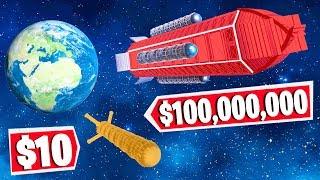 Fortnite BUILD a Custom ROCKET SHIP Challenge! (Fortnite Creative)