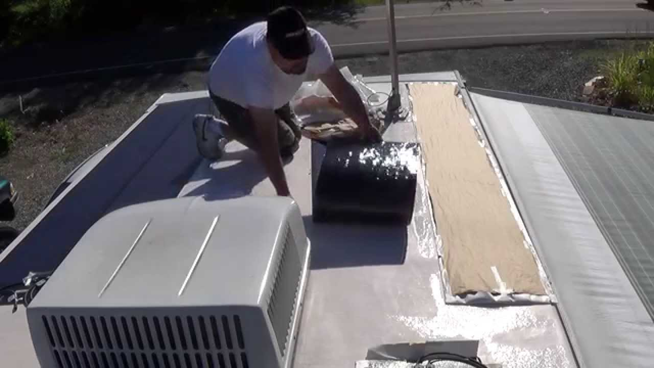 Off Grid Travel Trailer Solar Install Part 1 Youtube