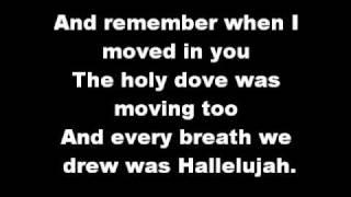 Kate Voegele - Hallelujah lyrics
