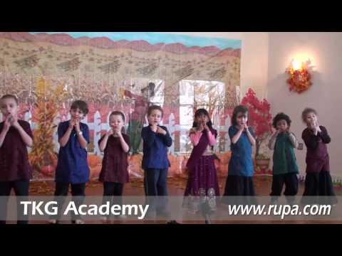 TKG Academy - Kindergarten Presentation - Thanksgiving Lunch 2/2