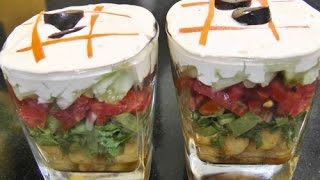 Layered Salad - Healthy Recipe