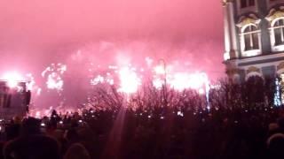 Фейерверк под музыкальные композиции 30 декабря 2016г. посвященный Году российского кино
