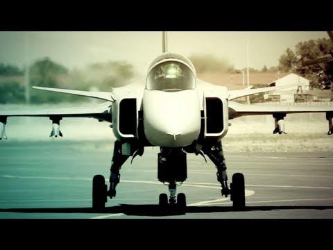 Gripen Pilot - Blokkies Joubert - SAAF Saab JAS-39
