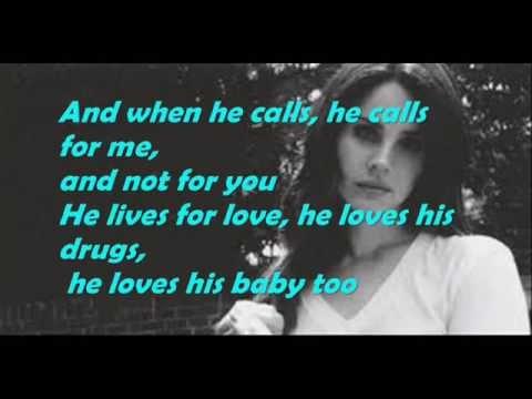 Shades Of Cool-Lana Del Rey (Explicit) (Lyrics)
