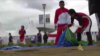 موسكو تستضيف بطولة العالم العسكرية للقفز بالمظلات