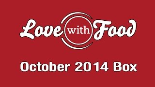 Love With Food October 2014