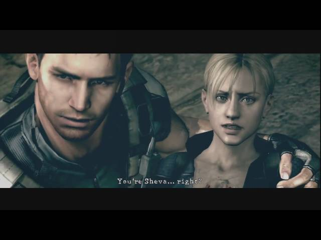 Resident Evil 5 Jill Battle