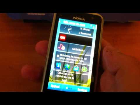 Nokia C6-01 - video-review in romana