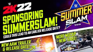 WWE 2K22 Sponsoring SummerSlam, August Release Date Announced for AAW, Wrestling Code Mocap & More!