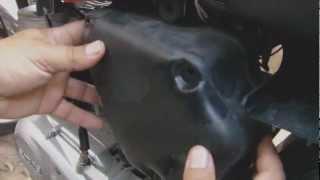 Como limpiar el filtro de aire de Moto ?