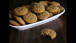 Amazing Ginger Snap Cookies