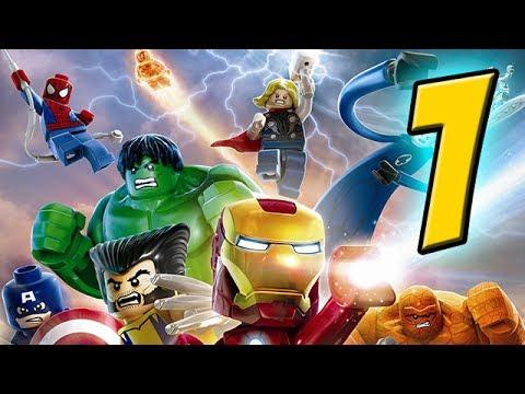 LEGO Marvel Super Heroes Full Movie Walkthrough Part 01 HD1080p -  No Commentary