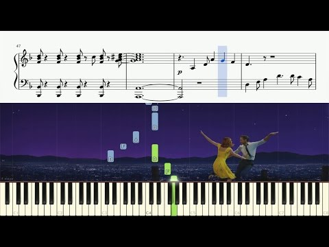 La La Land - City Of Stars - Piano Tutorial + SHEETS
