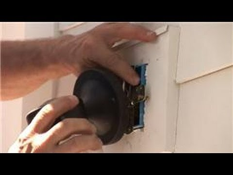 Exterior Wall Lights Installation : Lighting Fixtures : How to Install Outdoor Lighting - YouTube