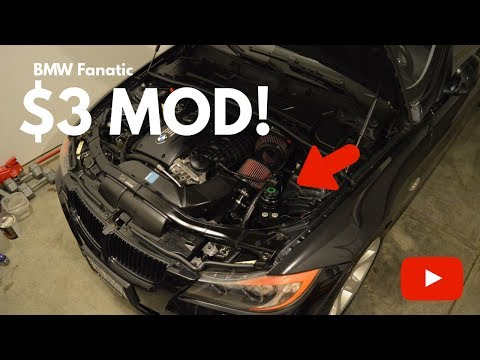 What Is The BMW N54 $3 BOV Modification? I