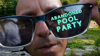 (ABANDONED POOL PARTY) HAUNTED??