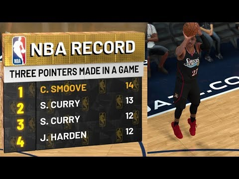 NBA 2K19 My Career EP 42 - 3 Point Record! 18 Splashes!