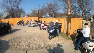 Ready Steady Go Scooter Club Hot Chocolate Ride - Jan 22