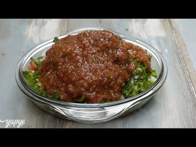 Kaşık Salata Tarifi, Nasıl Yapılır?