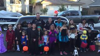 Trick or Treating with Cops