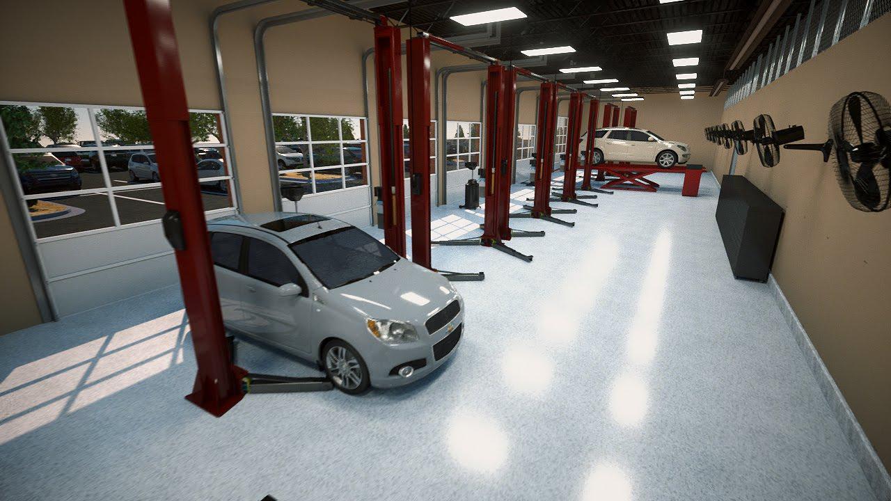 Firestone Complete Auto Care Concept Store Youtube