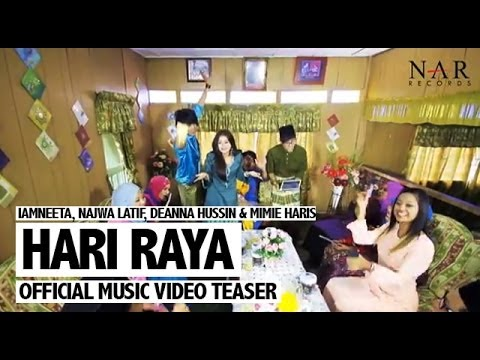 iamNEETA, Najwa Latif, Deanna Hussin & Mimie Haris - Hari Raya (Official Music Video Teaser)