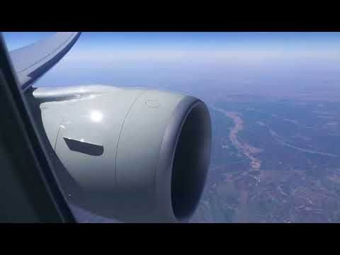 QATAR AIRWAYS 777-300ER flying over Northern Iraq/close to Turkey