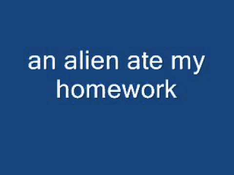 Aliens ate my homework summary