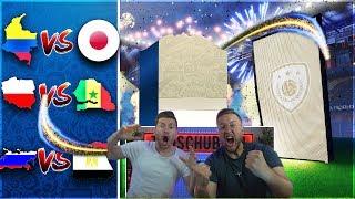FIFA 18:GARANTIERTE ICON  World Cup PACKs + Chilliges WM schauen !