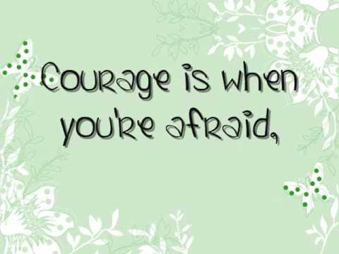 The Strange Familiar Courage Is Lyrics