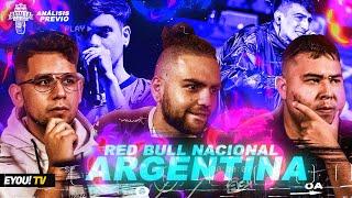 ANÁLISIS PREVIO: Red Bull Argentina - Analizando participantes - Jony Beltrán, Yoiker, Tess