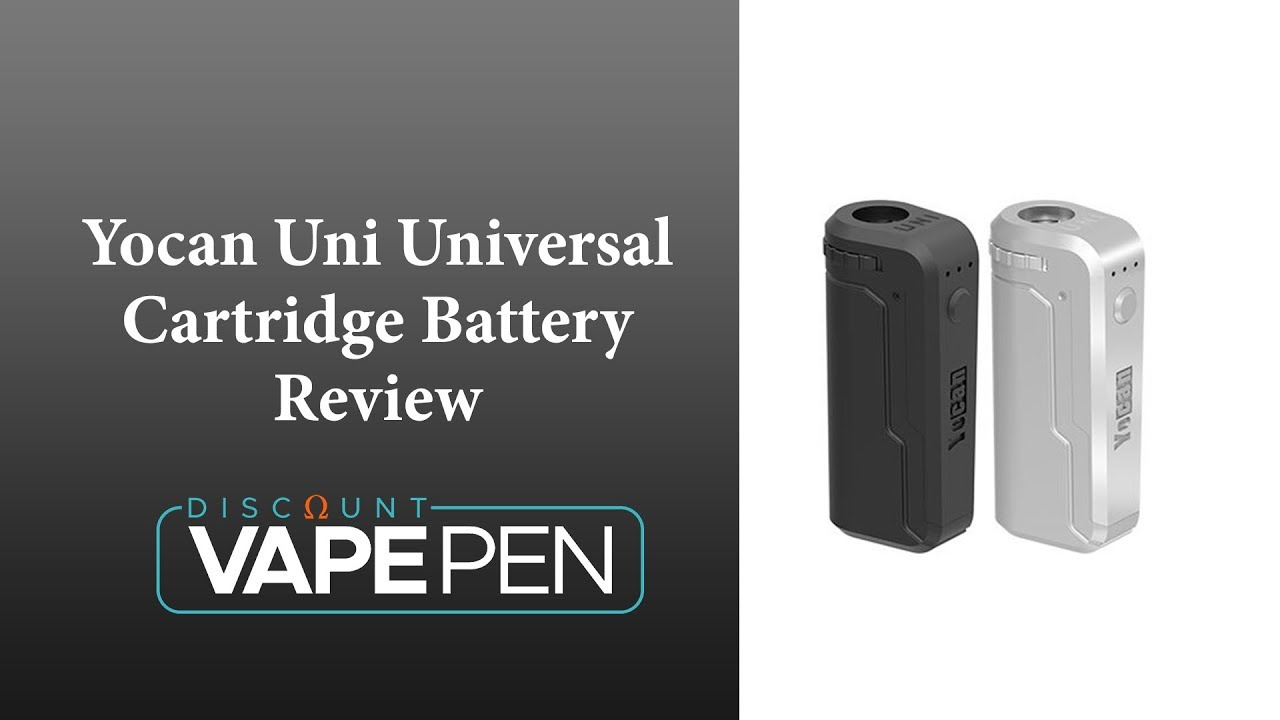 Yocan Uni Universal Cartridge Battery Review