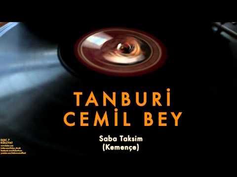 Tanburi Cemil Bey - Saba Taksim [ Külliyat © 2016 Kalan Müzik ]